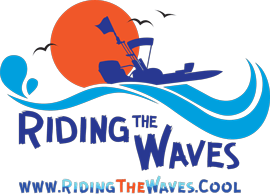 Riding the Waves logo
